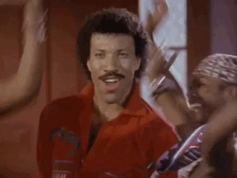 """BUMP 3 - \""""All Night Long\"""" Lionel Richie. Happy Birthday to the singer/songwriter, born June 20th, 1949."""