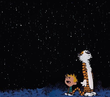 Happy birthday to Bill Watterson! Thank you for so many years of so many feels.