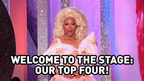 Sound off! Are you #TeamPeppermint, #TeamSasha, #TeamShea or #TeamTrinity? #DragRace ✨👑🏁