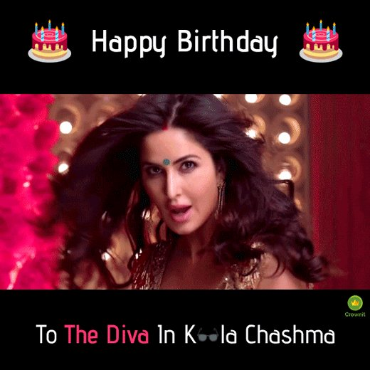 Happy Birthday, Katrina Kaif.From New York to Rajneeti to Jagga Jasoos, you have become our favourite. Cheers! :D