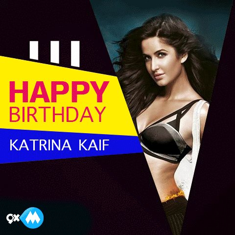 Happy birthday to the always gorgeous, Katrina Kaif. May you have a glamorous year ahead