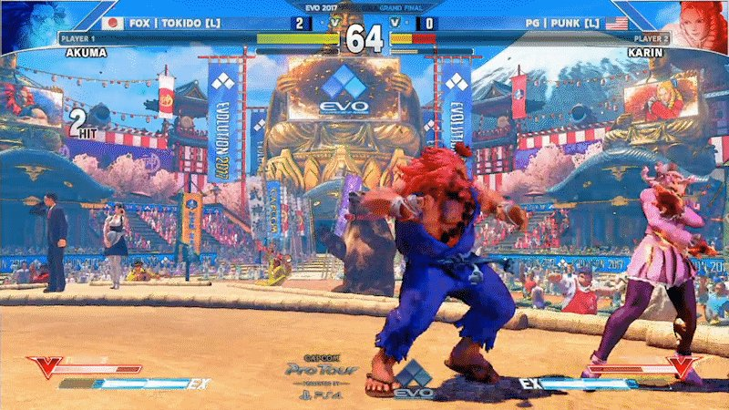 Tokido battles back through losers bracket to win Evo Street Fighter V championship