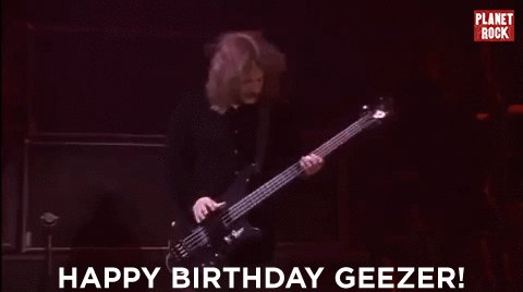Happy birthday to the one and only Geezer Butler of