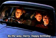 Happy Birthday Daniel Radcliffe! Thank you for bringing Harry Potter to life for us Potterheads.