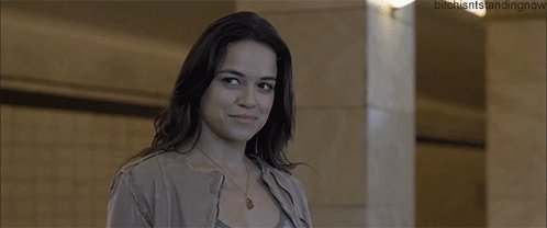 Happy birthday Michelle Rodriguez!   We\ll always have a blue crush on you.