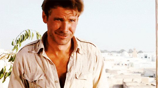 Happy Birthday to Harrison Ford...My first proper childhood crush! *swoon*
