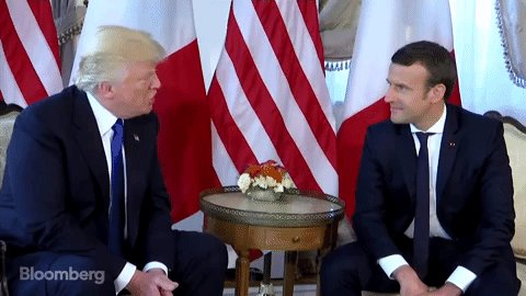 Forgive & forget? Trump tells Macron friendship with Paris 'unbreakable'