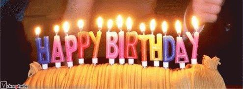 Happy birthday  :-) xxx