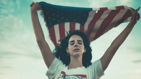 Lana Del Rey admits to casting spell on Donald Trump via @nparts