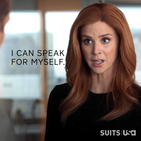 RT @Suits_USA: Donna = a total boss. #Suits https://t.co/cnxuZZ0Ja1