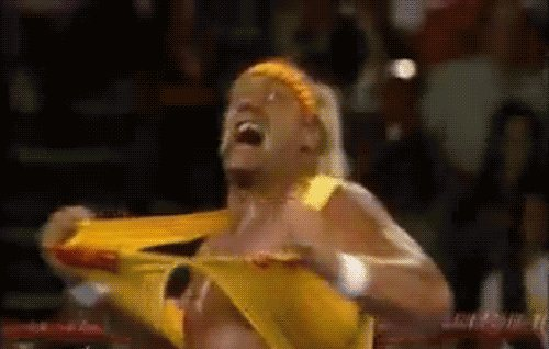 HULKAMANIA IS RUNNING WILD BROTHER...  Happy birthday to the original G.O.A.T Hulk Hogan