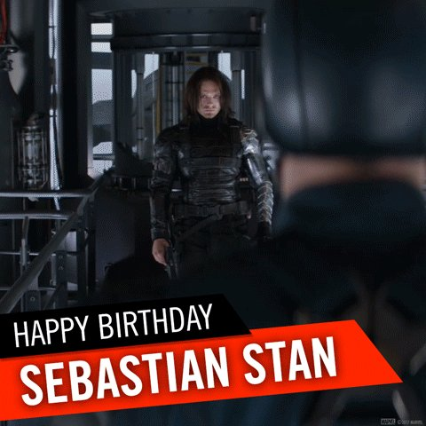 A Friend. A Soldier . A Nemesis.  Happy birthday Sebastian Stan, aka