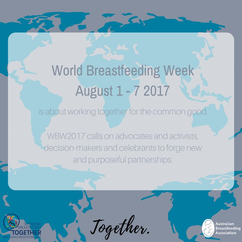 Who's excited about World #Breastfeeding Week starting tomorrow? 🙋🏽 #WBW2017 https://t.co/qe2UOM3B7B