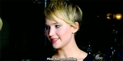 Happy 27th birthday to the lovely Jennifer Lawrence! May the pizza gods be ever in your favor