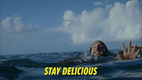 #Wrecked So we finally found out what happened to Emma, but what about that raft with the food? 😂 #StayDelicious https://t.co/9eJNY4EKJF