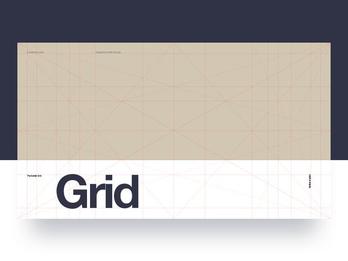 Golden Ratio Grid    Template by adriansomoza freebie