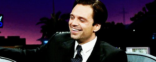 Happy birthday to this sweet human being, Sebastian Stan