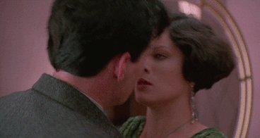 Happy birthday, Marcia Gay Harden!  Ok, no kisses...