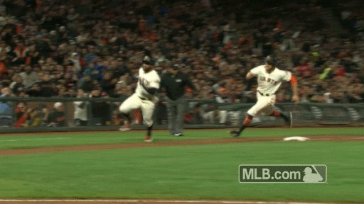 """RT @MLBGIFs: """"He's the fastest kid alive!"""" https://t.co/OlqKDGB9lY"""