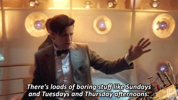 That #FridayFeeling when it's not one of the boring days. #DoctorWho