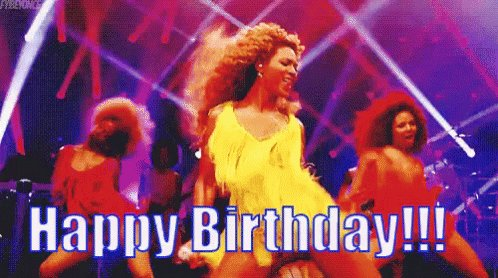 babez! Happy birthday! Ilysfm and I wish you the best! aquí te dejo a Beyoncé bailando jajaj