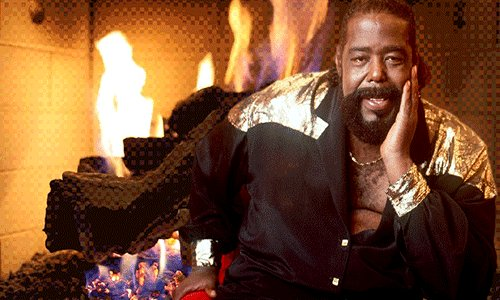 Happy birthday to Barry White who would\ve turned 73 today.