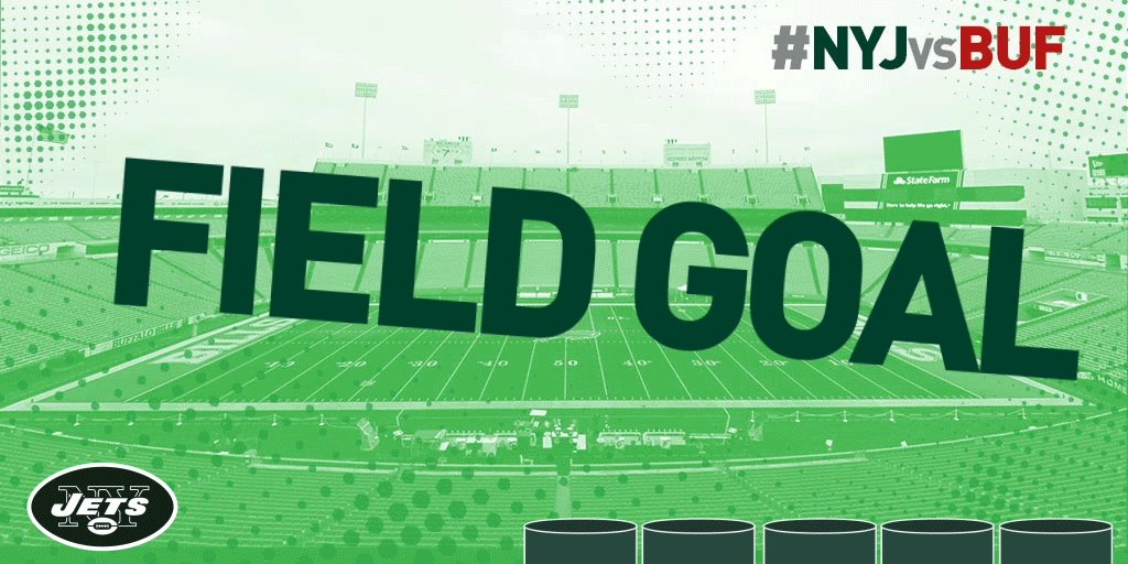 Catanzaro is true from 48 yds out.#Bills 7, #Jets 3.634 left in the half. #NYJvsBUF