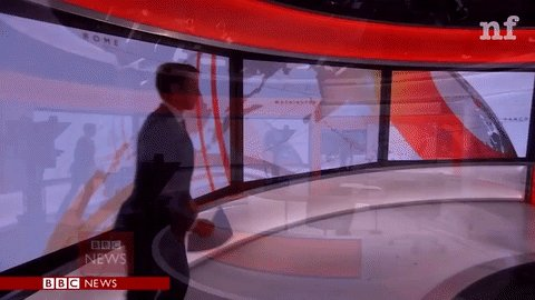 A BBC anchor failed and recovered in the most incredible way on live TV: