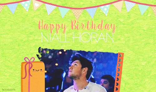 Nouisedits:  Happy 24th Birthday Niall Horan!  -  - Harry Styles
