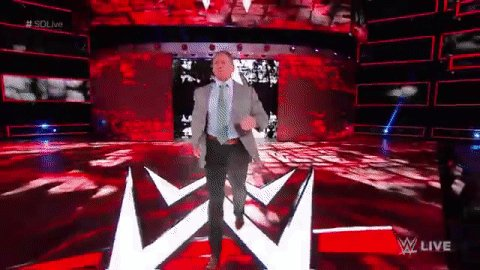 RT @WWE: That strut...  #MrMcMahon is ready to reveal the future of #SDLive! @FightOwensFight https://t.co/zi5I7JkXlD