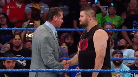 RT @WWE: WRONG MOVE, @FightOwensFight.   #SDLive https://t.co/XgIeEGbfjD