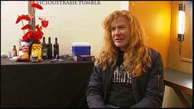 Happy birthday Dave Mustaine y en vh1 videografia...