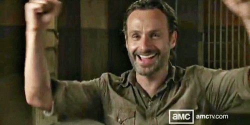 Happy Birthday, Andrew Lincoln! When the apocalypse comes, we want you in our corner.