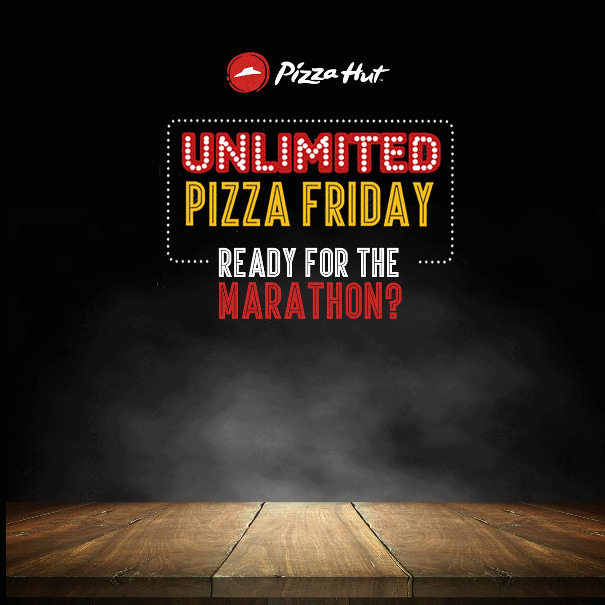 Ready for UnlimitedPizzaaFriday Enjoy Unlimited Pan Pizzas amp Garlic Bread starting from Rs. 249 only. T amp C apply