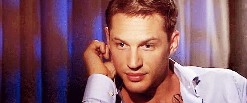 Happy 40th birthday Tom Hardy! You make me feel things.