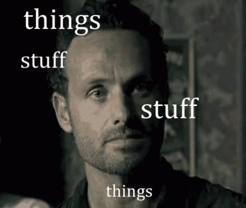Happy Birthday Andrew Lincoln, hope its full of Stuff and Things!!