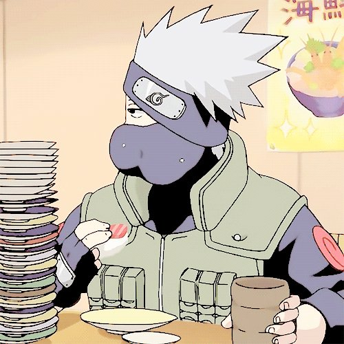 Happy birthday to my one true love, hatake kakashi