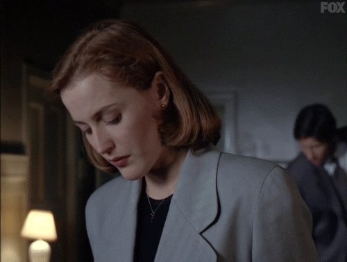 When your roommate eats your leftovers. Without asking. 😡 #TheXFiles