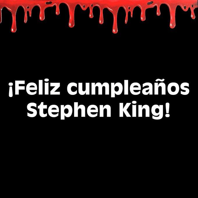Happy birthday, dear Stephen King! Hoy celebramos al maestro indiscutible de la narrativa de terror.