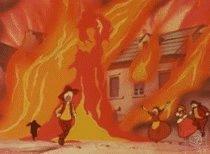 その際、死者は出ていないっぽいのだが、これはタイムボカンシリーズの悪玉として相当ヤバいレベルの破壊だと思う。火炎の作画も