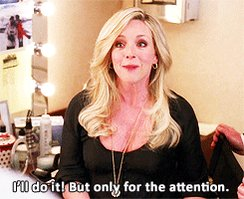 Happy Birthday to Jane Krakowski. Star of the most important GIF on all of message.