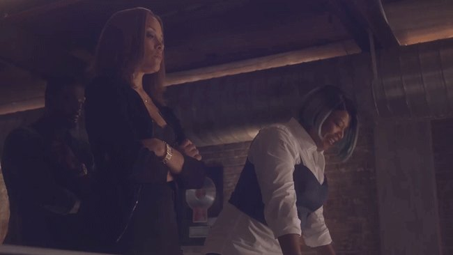 My girls ain't no backup dancers. ???????? Sorry, @MichaelMichele! #STAR https://t.co/ScYllNlpft