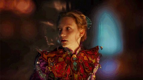 Happy Birthday Mia Wasikowska! Watch her in Alice Through the Looking Glass on 17 October at 20:42 on