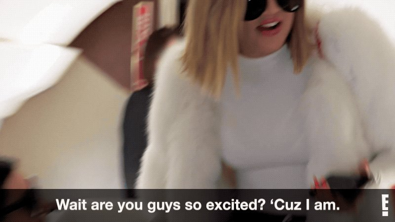 RT @KUWTK: Who's excited!? (Besides Khloe ????) An all-new #KUWTK starts in one hour! Time to #KeepItKardashian. https://t.co/P6TbmosxBj