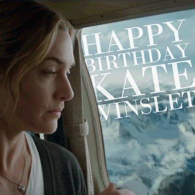 Wir wünschen Kate Winslet Happy Birthday!        - ab Dezember nur im Kino!