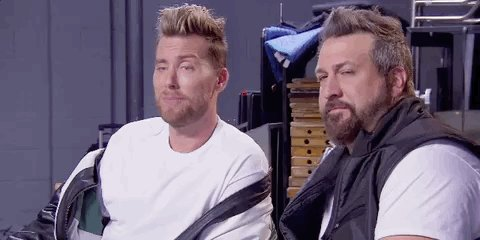 RT @MTV90sHouse: 90s experts @LanceBass and @realjoeyfatone aren't feeling these performances... #90sHouse https://t.co/8DlHBKW7Zy