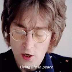 HAPPY Birthday. JOHN LENNON . Gone but not forgotten.