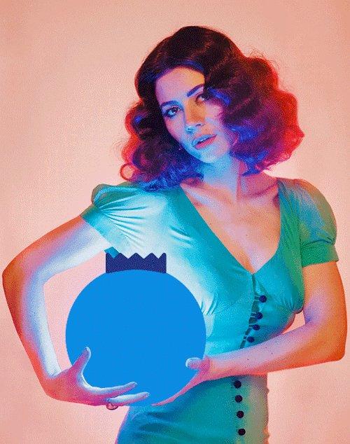 Happy 32nd birthday to the amazing Marina Diamandis! My idol and inspiration