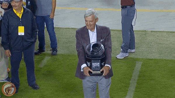 Happy Birthday to the OG Head Hokie, Frank Beamer. ( :
