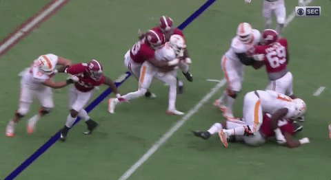 Trey Smith's ankle gets rolled up… https://t.co/FJAKF5vwOQ